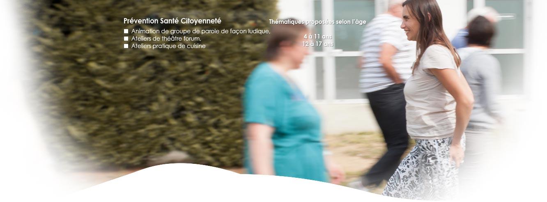 Prévention Santé Citoyenneté : Animation de groupe de parole, ateliers Théâtre forum, ateliers cuisine